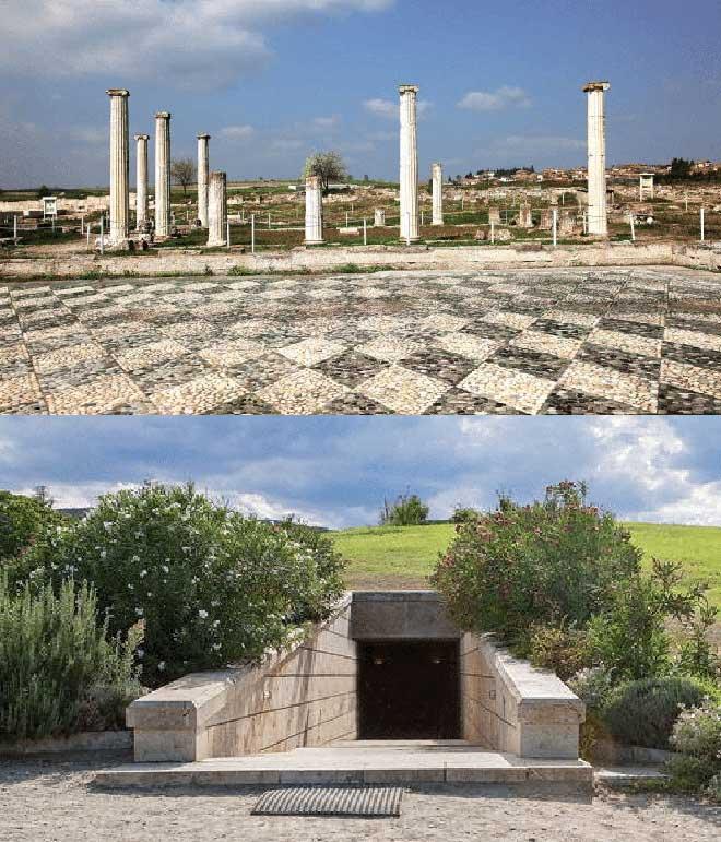 ancient Pella and Vergina Royal Tombs